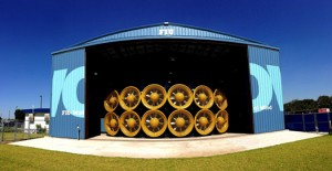 FIU's Wall of Wind facility is the first of its kind in the nation.
