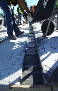 Placing UHPC in deck closure joints