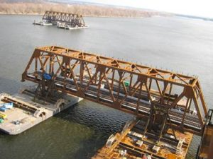 September 2016_Photo 4_Truss span float-in